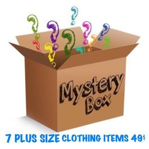 MYSTERY PLUS SIZE RESELLER BOX 7 Pieces for 49$